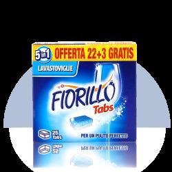 Fiorillo Tabs 25 detersivo per lavastoviglie