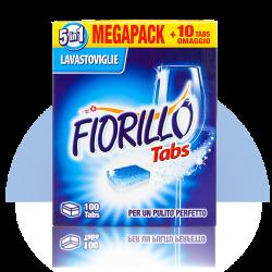 fiorillo Tabs 100 detersivo per lavastoviglie
