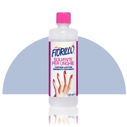 fiorillo solvente per unghie 125 ml smalto semitrasparente