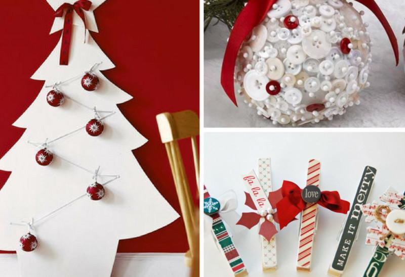 Decorazioni natalizie fai da te per creare la magia di for Fai da te decorazioni casa