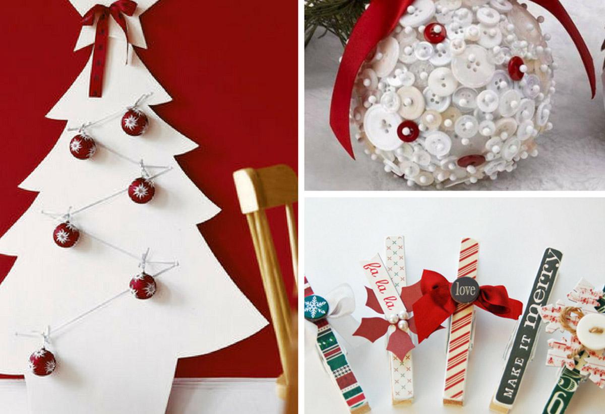Decorazioni natalizie fai da te per creare la magia di - Creare decorazioni natalizie ...